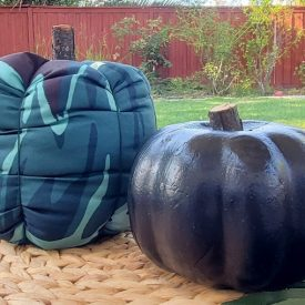 DIY Fall Fabric Pumpkin