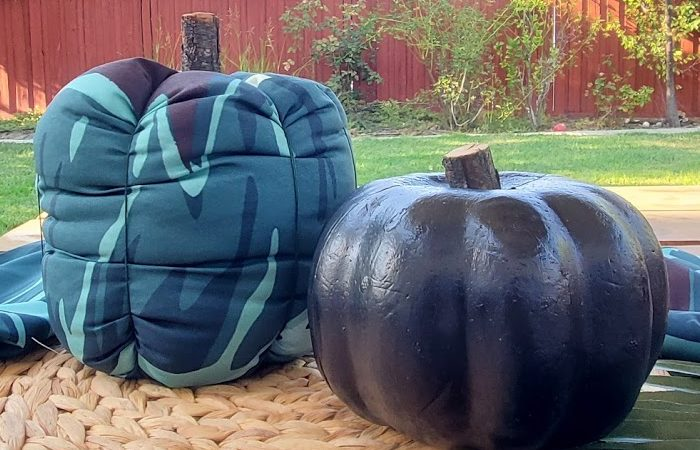 DIY Fall Fabric Pumpkin – Easy Fall Tropical Decor