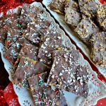 Christmas Crack Bark Trays