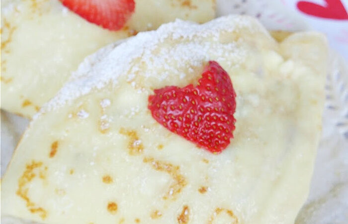 Easy Sweet Crepes Recipe