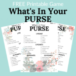 What's in Your Purse Printable Game Slider
